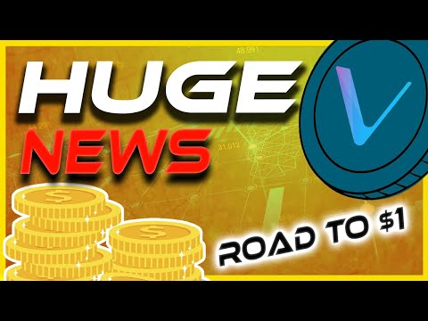 Breaking: Huge News! VET To $1   VeChain Gains Incoming!   Crypto News Today