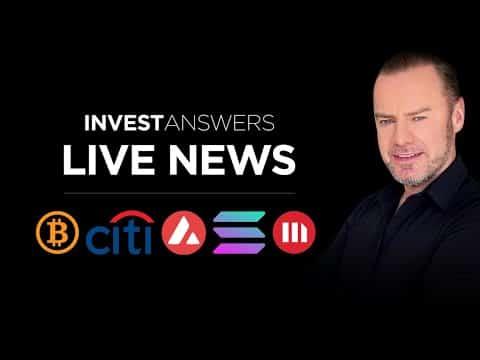 Crypto Update: BTC Fib & Elliot, AVAX, SOL + MicroStrategy's Price Prediction update