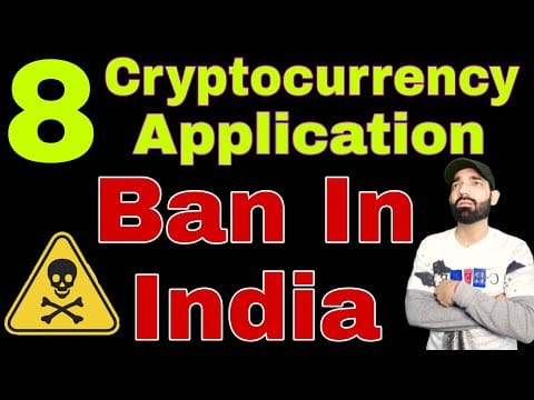?Big News For Cryptocurrency Holders   Cryptocurrency App Ban in India   Delete all apps Now   smc