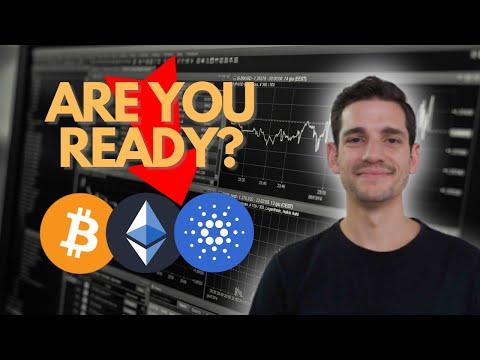 CRYPTOCURRENCY CORRECTION   Cardano Bitcoin & Ethereum Analysis
