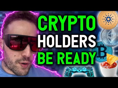 CRYPTO HOLDERS BE READY!!! THIS DIP IS A HUGE OPPORTUNITY