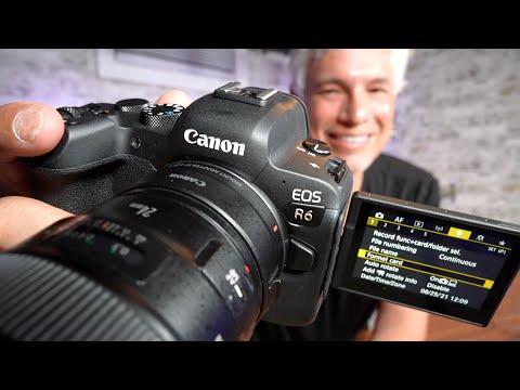 Canon EOS R6 Training Tutorial & Settings