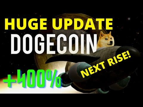 ? NEW DOGECOIN UPDATE! DOGECOIN WILL DROP & RISE FAST! *PREDICTION & NEWS*
