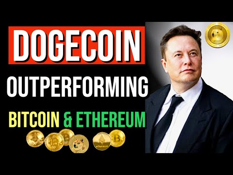 DOGECOIN EXPLOSIVE GROWTH!  OUTPERFORMS BTC & ETH! LATEST BREAKING NEWS. PRICE UPDATES! #DOGECOIN