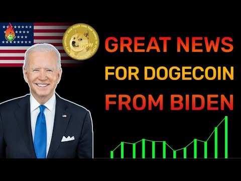 DOGECOIN IS GOING TO EXPLODE AFTER JOE BIDEN'S GOVERNMENT DID THIS! | DOGECOIN NEWS