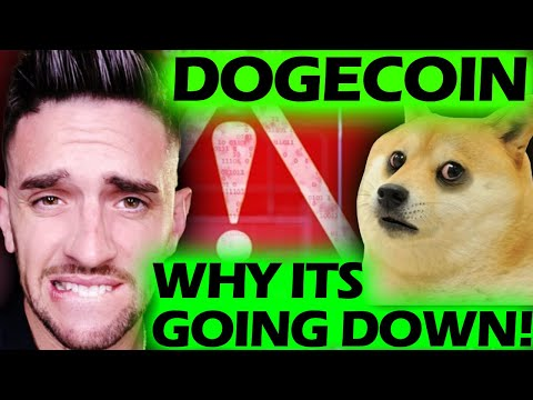 WHY DOGECOIN IS GOING DOWN!????!!??  #DOGECOIN #CRYPTOTAX #DOGE