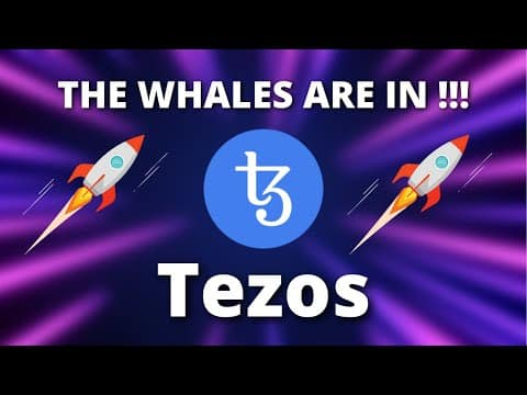 Tezos Price Predictions – THE WHALES JUST ENTERED HURRY UP !!! – Tezos XTZ Price Predictions