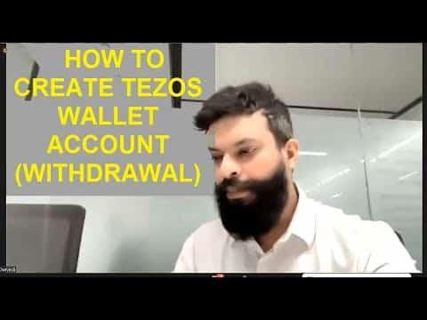 HOW TO CREATE TEZOS WALLET By-Karn Dwivedi , Chairman of ECN
