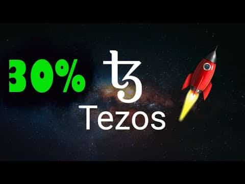 Tezos 30% De Ganancia en Un Dia | Por qué Tezos creció hoy?