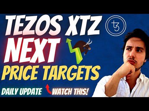 TEZOS PRICE Prediction 2021| NEXT TARGET! |XTZ Technical Analysis! XTZ Coin! XTZ PRICE Prediction