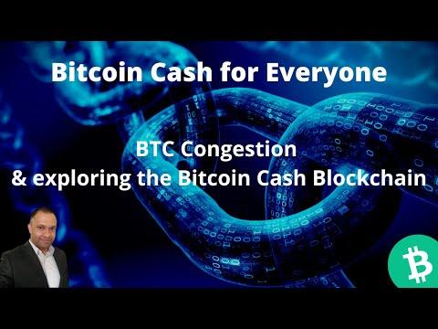 Bitcoin Cash for Everybody: BTC Congestion & exploring the Bitcoin Cash (BCH) Blockchain
