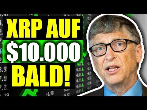 XRP DEUTSCH: Milliardär sagt dass XRP auf 10000 steigen wird! *CRAZY* 2021