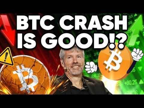 WARNING! Bitcoin To Crash Again!! Why It's Good News?