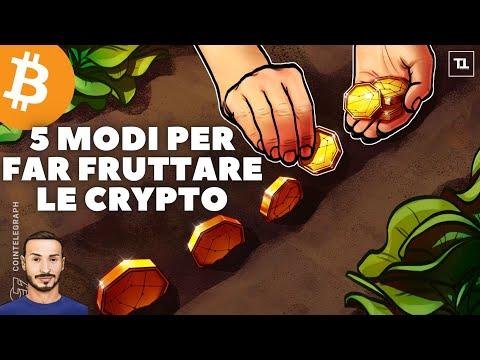 5 Modi per Guadagnare CRYPTO ? SENZA Trading