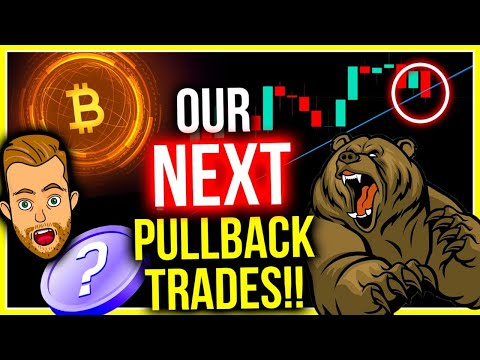 BITCOIN BROKE THIS IMPORTANT TRENDLINE! THESE ARE OUR BIGGEST PULLBACK TRADES!