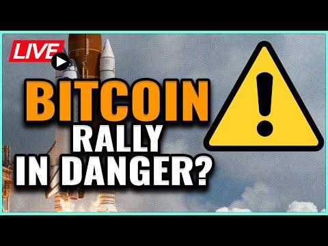 MAJOR WARNING SIGNS FLASH For The Bitcoin RALLY! Coffee N Crypto LIVE