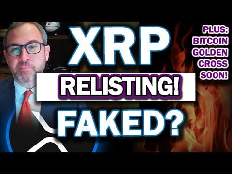 MAJOR RIPPLE XRP UPDATE! XRP Re-Listing Fake-Out? Ripples BIG Day COMING! Bitcoin Golden Cross!
