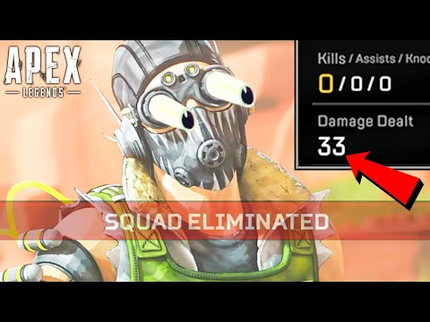 YOU WON'T BELIEVE THIS CRYPTO'S DAMAGE!! Apex Legends
