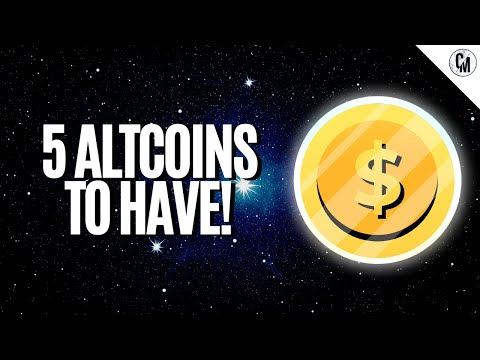 5 ALTCOINS THAT YOU COULD BUY IN CRYPTO MARKET CORRECTION!
