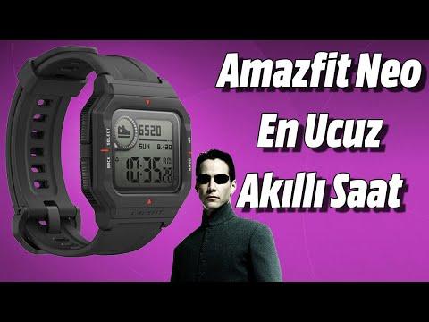 Amazfit Neo İnceleme! En Ucuz Akıllı Saat