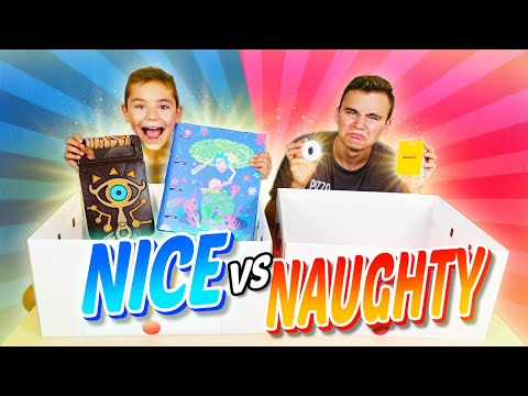 NAUGHTY vs. NICE Back To School Challenge !!! (Ne Jamais Choisir la Mauvaise Fourniture Scolaire !)