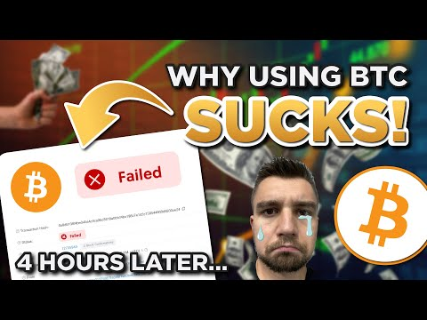 Using Bitcoin SUCKS it's slow and expensive