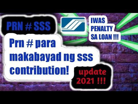 PRN # SA SSS CONTRIBUTION PARA MAKABAYAD bagwis hopeTV