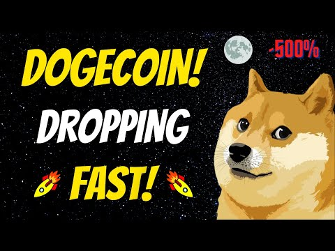 ? NEW DOGECOIN UPDATE! DOGECOIN IS DROPPING FAST! *PREDICTION & NEWS*