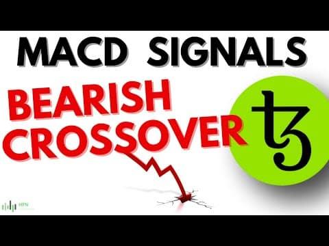 ⭐️Tezos Price Prediction – XTZ Crypto MACD Signals Bearish Crossover!!! (LOL!!!)