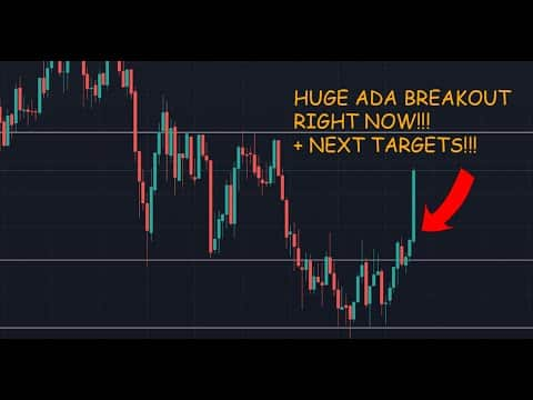 Cardano ADA Price Analysis Price Prediction Huge Breakout Now!!!