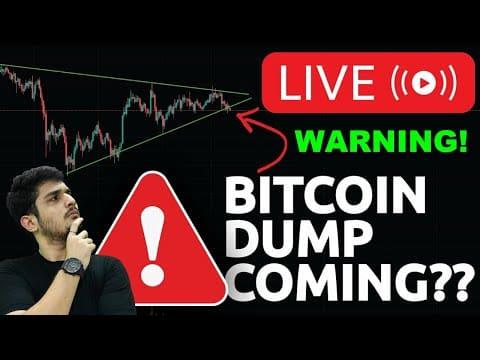 ? Warning Bitcoin Dump Coming? ⚠️ Crypto News Today ?