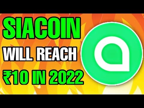 Sia Coin (SC) Could Make You A Millionaire?? Siacoin Price Prediction 2021 & Siacoin News Today