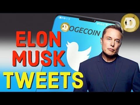 DOGECOIN ELON MUSKS TWEETS! DOGE LATEST NEWS  UPDATES  & PRICE PREDICTIONS!