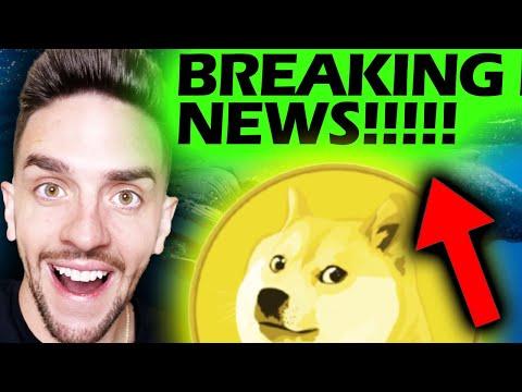 DOGECOIN BREAKING BULLISH NEWS!!!!!!!!!!!!!!!! #DOGECOIN #DOGE