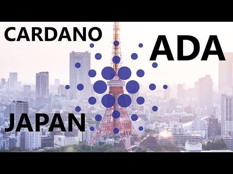 CARDANO, TODAY IN JAPAN