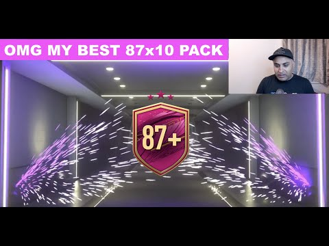 OMG! MY 850,000 COIN 87X10 PACK! FIFA 21 ULTIMATE TEAM