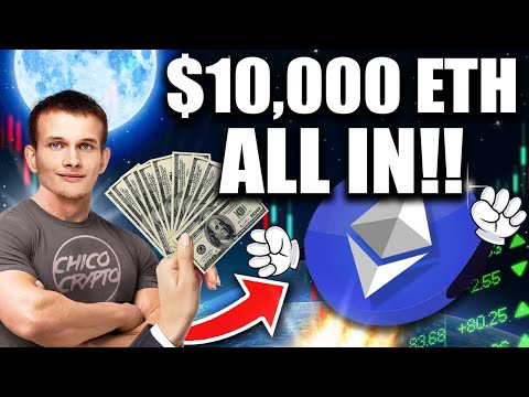 """Going """"All In"""" w/ Ethereum!! $10,000 ETH End of Year!?"""