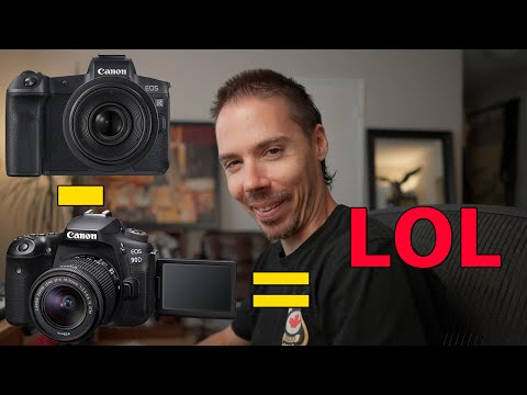 He Sold a Canon 90D For EOS R LOL