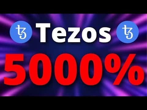 Tezos Price Predictions – A 5000% PUMP IS COMING HERE IS WHY?? – Tezos XTZ Price Predictions