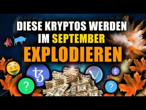 Top 7 Kryptowährungen die im SEPTEMBER 2021 explodieren (Tezos, Vechain, …)
