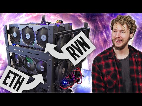 How to mine multiple coins on the same rig (Ethereum + Ravencoin mining rig build)