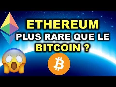 INFLATION SUR ETHEREUM PLUS BASSE QUE POUR LE BITCOIN! ACTU CRYPTO MONNAIE et NFT 2021 🔥 !