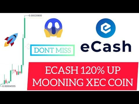 ? XEC – ECASH MOONING ?. BCHABC SKYROCKETS AFTER REBRANDING. BITCOIN CASH TO ECASH XEC COIN