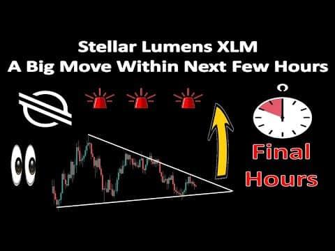 Stellar Lumens XLM A Big Move Within Next Few Hours