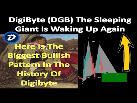 DigiByte The Sleeping Giant Is Waking Up Again   Here Is The Biggest Bullish Pattern Of DGB
