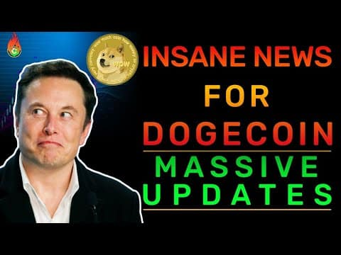 DOGECOIN UNEXPECTED NEWS WILL LEAD TO MASSIVE PUMPS!   DOGECOIN NEWS