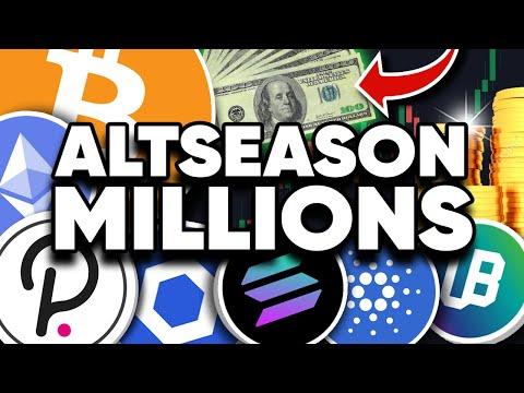 "Next ""ALTSEASON"" To Make Millionaires!! Top Coins Are?"