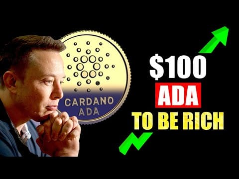 Guaranteed To Be RICH If You Buy $100 Cardano Ada NOW? (You Didn't Know THIS)