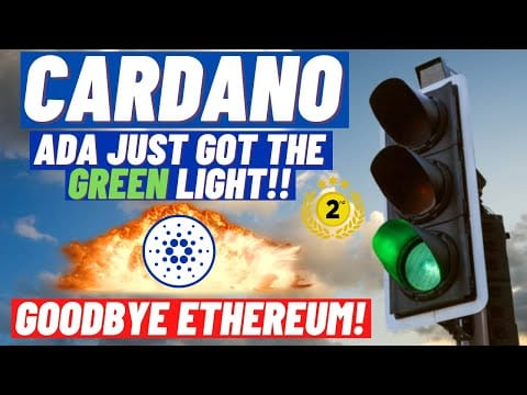 Cardano, ADA To Number 2! A Major Green Light!! When New All Time Highs!? 51% Bug attack on Ethereum
