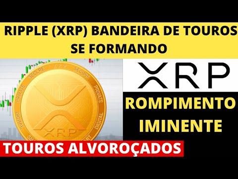 Ripple (XRP) – Touros Alvoroçados – Bandeira de Touros se Formando para Criptomoeda (XRP)